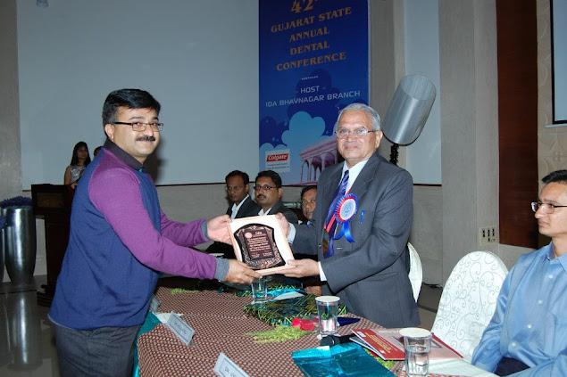 Dr. Bharat Katarmal at 42nd Gujarat State Annual Dental Conference