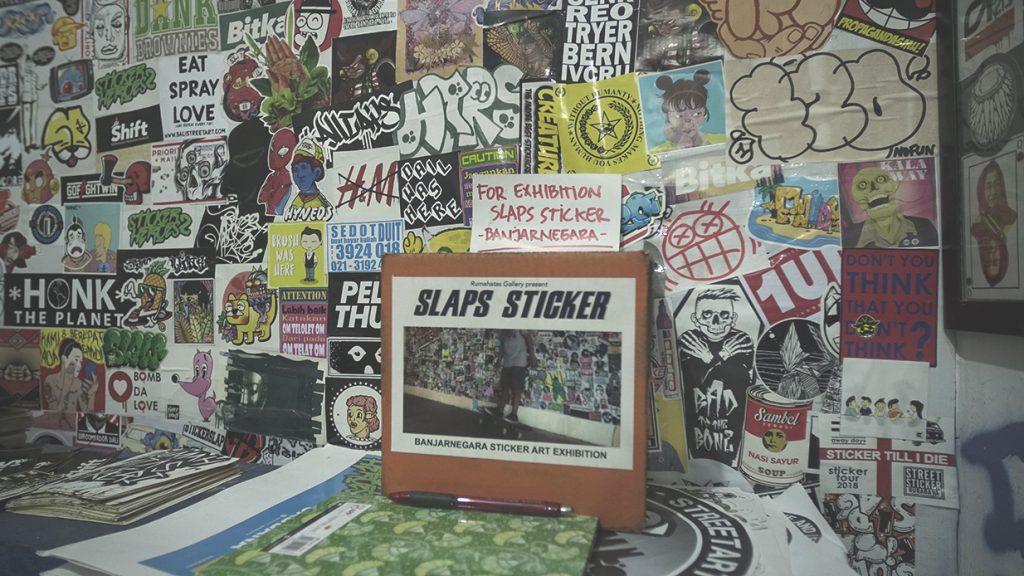 pameran stiker di Banjarnegara