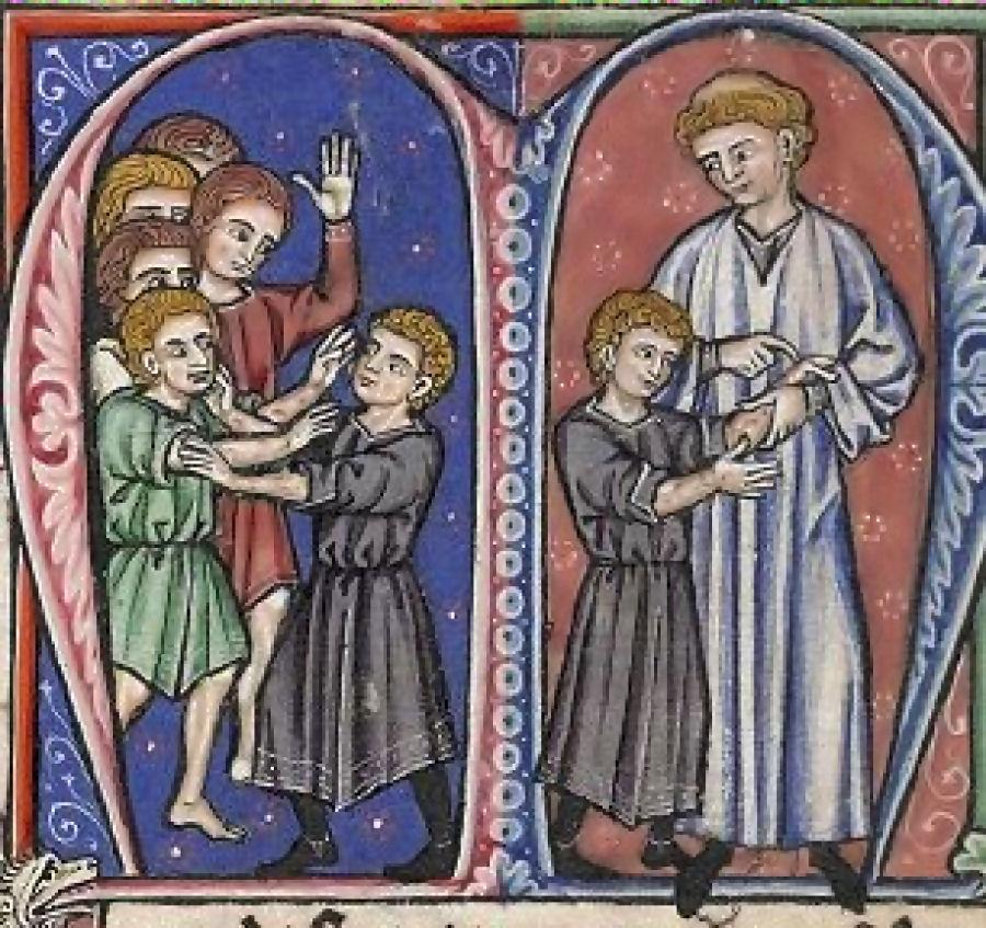 Guilherme de Tiro descobre a lepra no futuro rei Balduíno IV