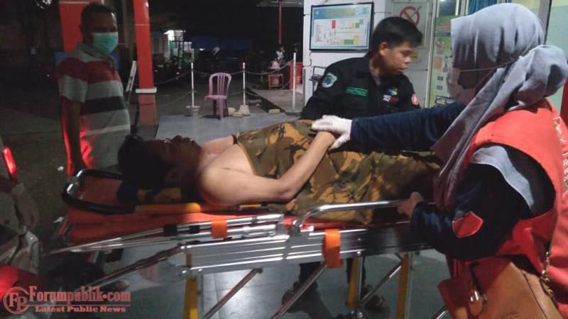 Timkes PSC 119 Jemput Pasien di Kassi, Diantar ke RSUD Batara Siang