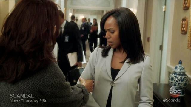 Scandal Like Father, Like Daughter Mellie y Olivia