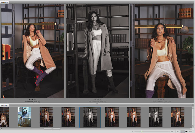 Images from my 'work' folder of Sage's shoot - shot one - Law Library location. Photography by Kent Johnson.