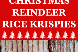 Christmas Reindeer Rice Krispies