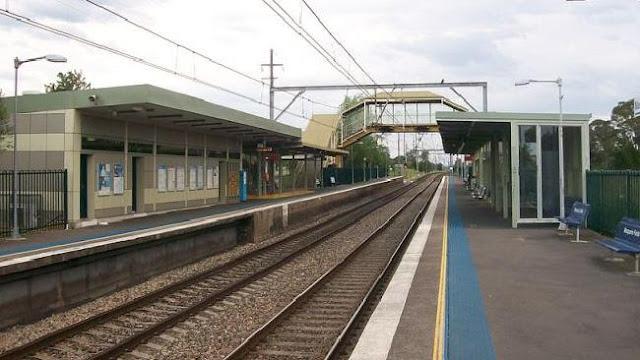stasiun paling angker dan paling menyeramkan di sydney australia Stasiun Kereta Api Macquarie Fields Auatralia