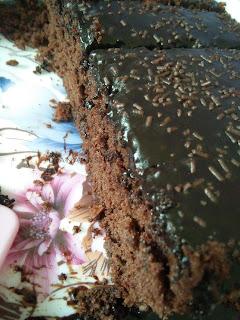 Kek coklat leleh paling sedap