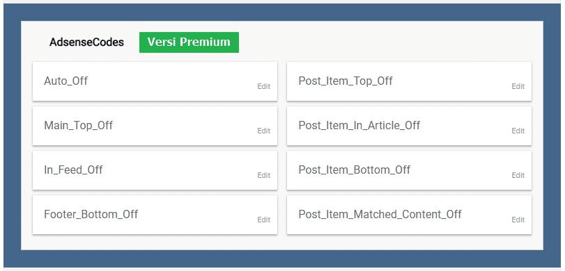 widget adsense versi premium