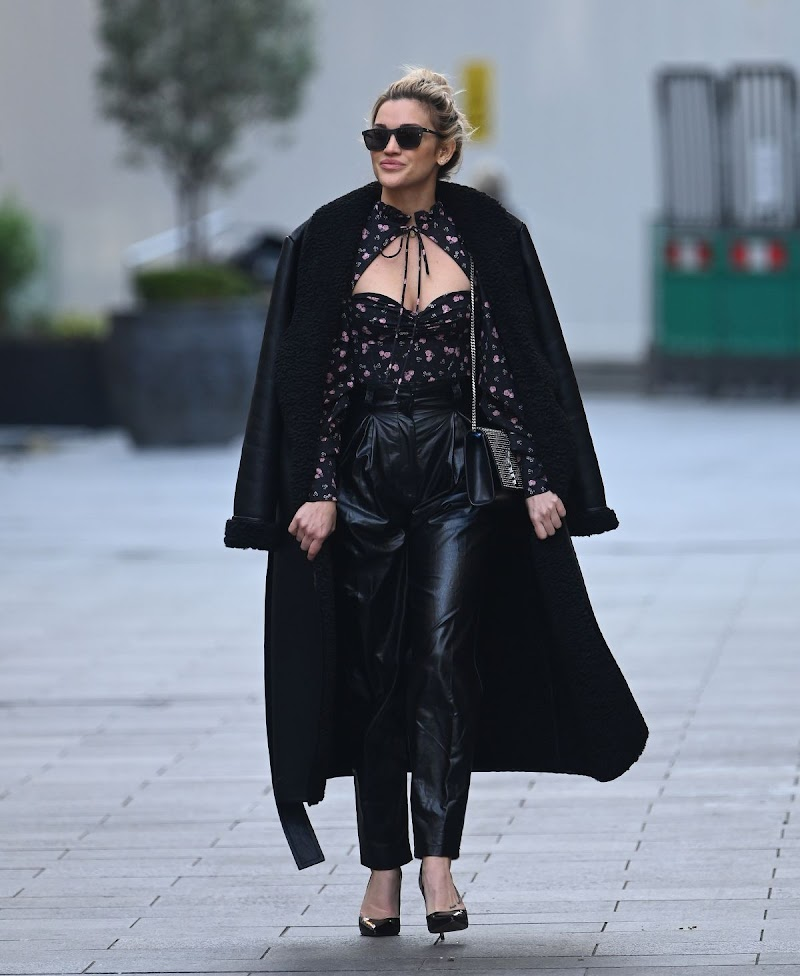 Ashley Roberts  Spotted Global Radio in London 16 Dec-2020