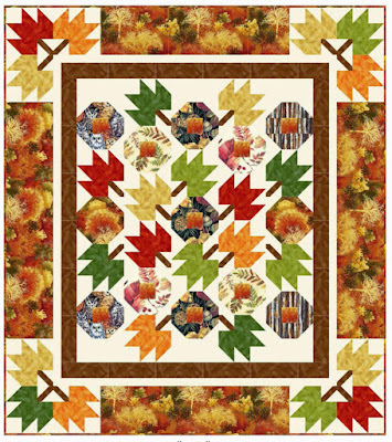 Quilt Inspiration: Free Pattern Day ! Autumn Leaves quilts : free autumn quilt patterns - Adamdwight.com