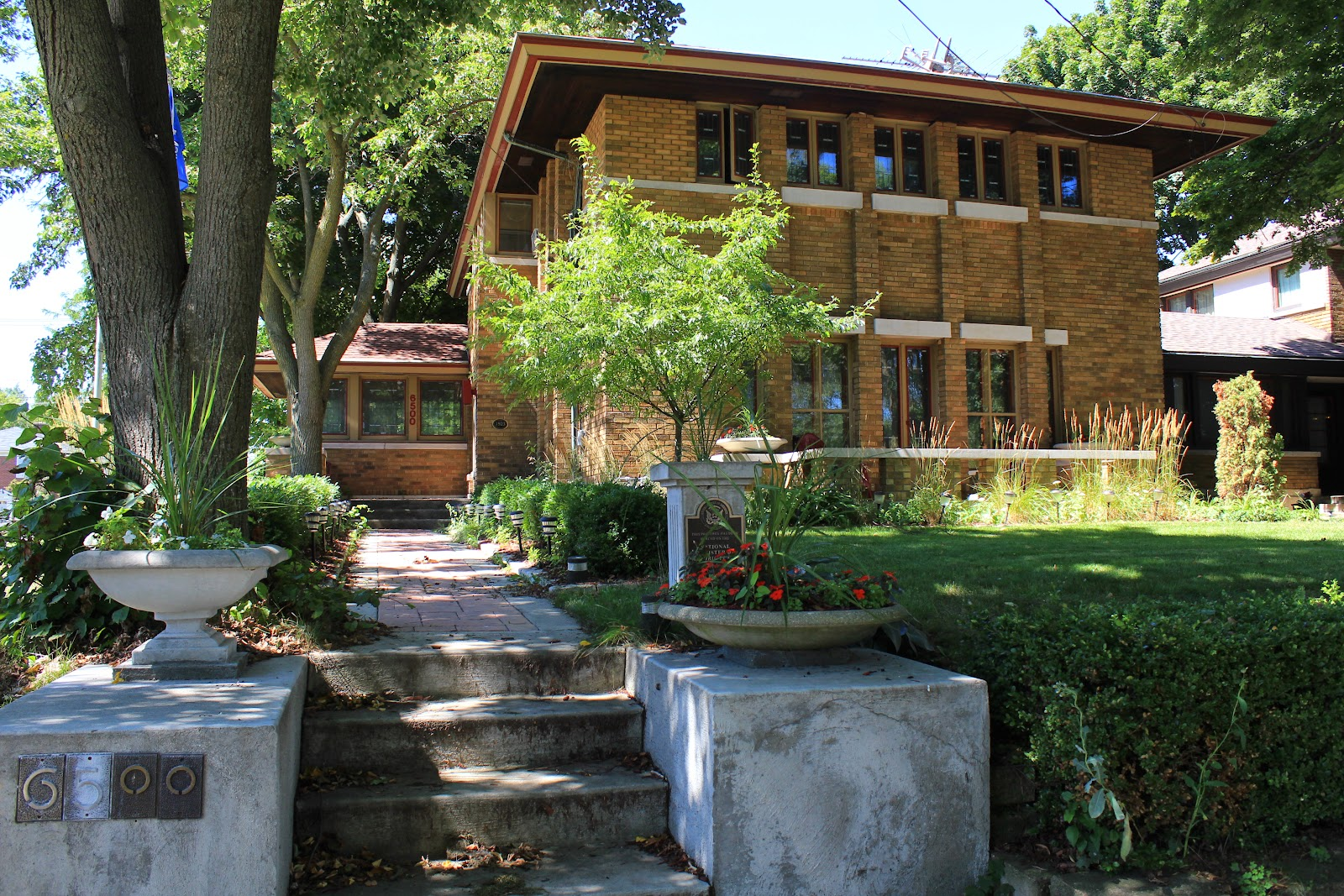 A Madison House Whose Architectural Style Was Influenced By Frank Lloyd Wright