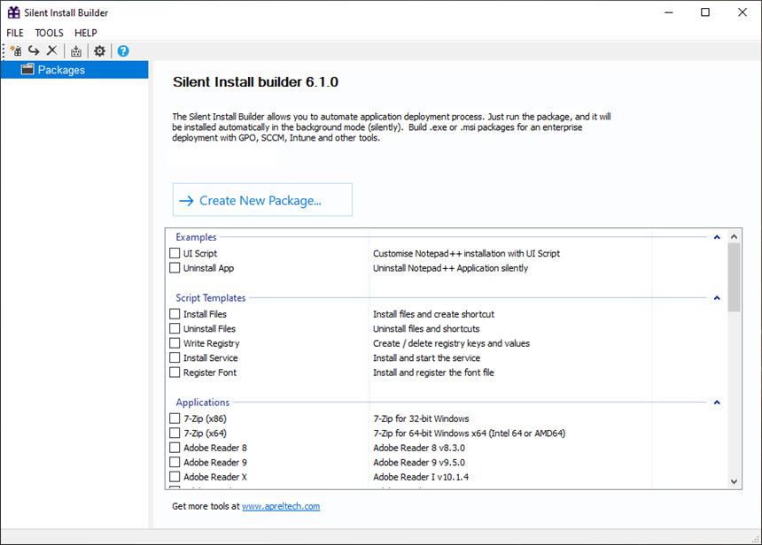 Silent Install Builder 6.1.0