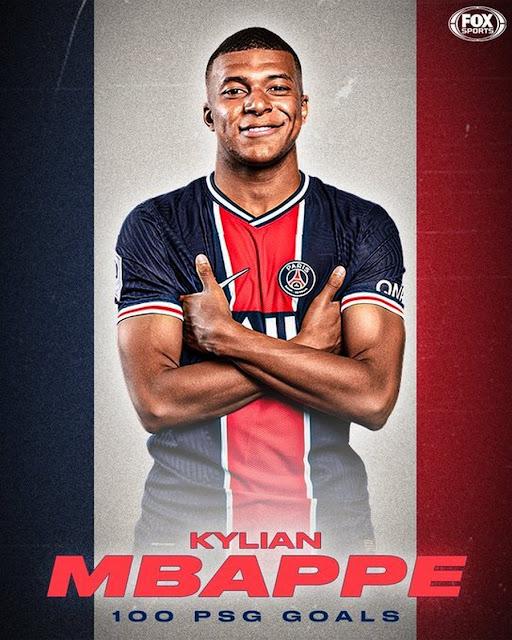 Kylian Mbappe PSG poster