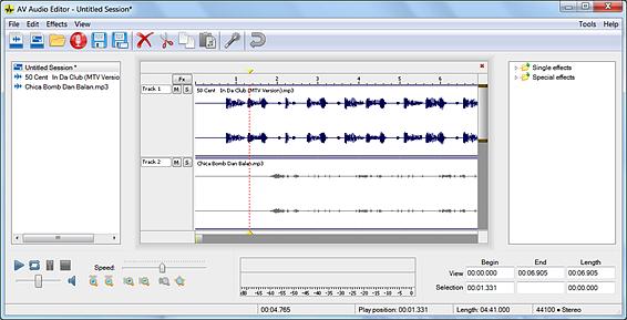 Δωρεάν Απλό - Ισχυρό Πρόγραμμα Επεξεργασίας Ήχου - AV Audio Editor 2