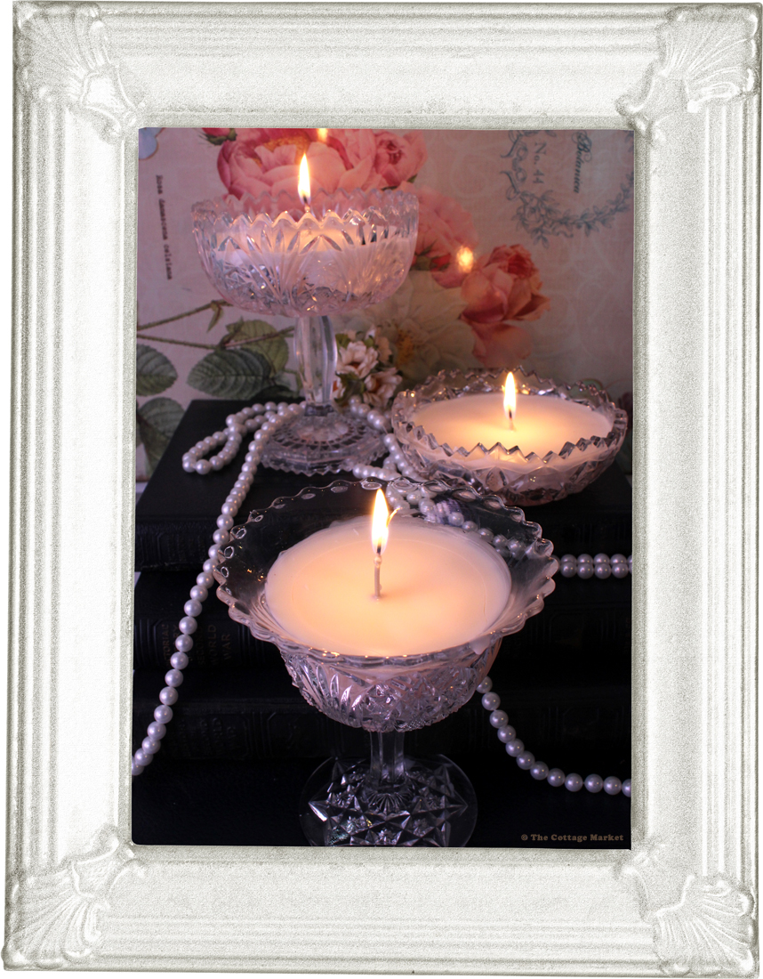 Crystal Candles A Pottery Barn Knock Off Tutorial For Thrifters