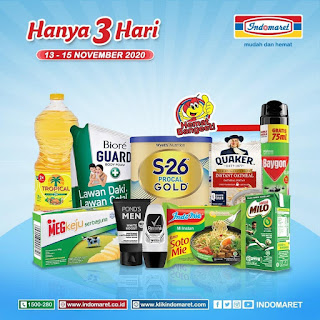 Katalog Promo JSM INDOMARET Weekend HANYA 3 HARI PERIODE : 13-15 November 2020