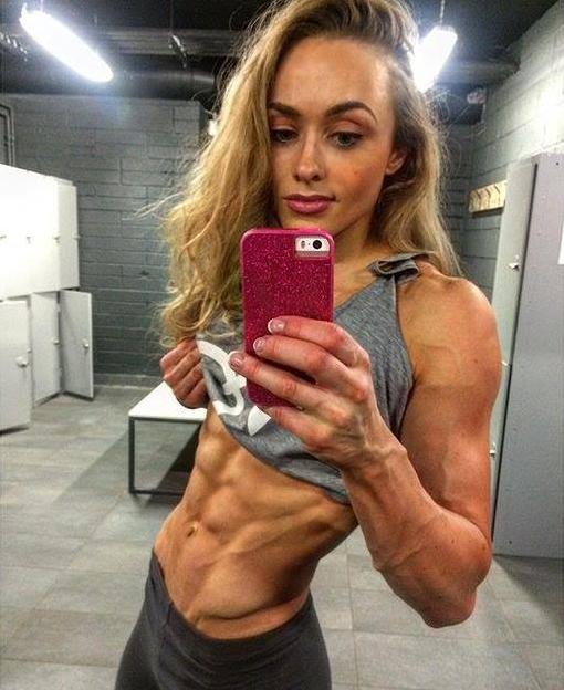 Beginners of female bodybuilding