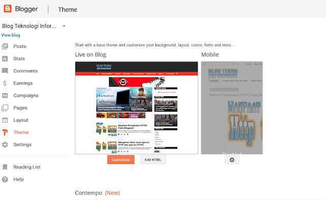 Memaksimalkan Penggunaan https Pada Blogspot