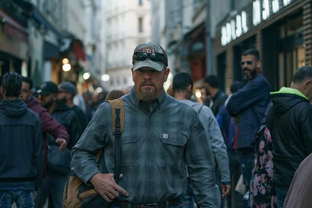 Matt Damon como Bill Baker. Fotograma de Focus Features.