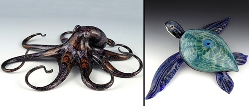 00-Scott-Bisson-Glass-Sea-and-Land-Animals-www-designstack-co