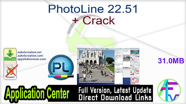 PhotoLine 22.51 + Crack