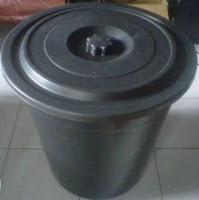 filter kolam ikan dari ember
