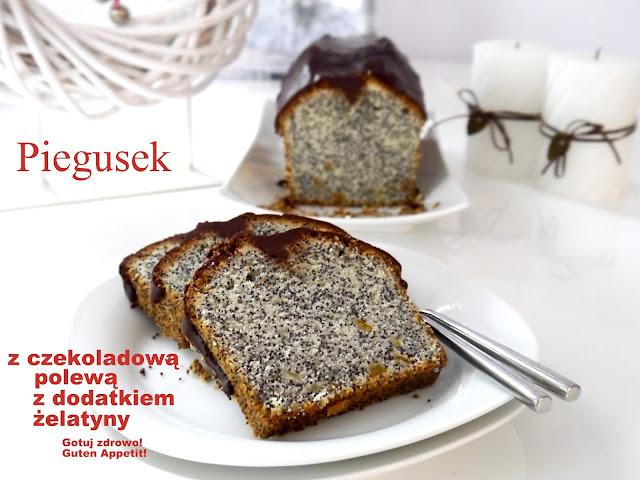 Piegusek z wyjątkową polewą czekoladową - Czytaj więcej »