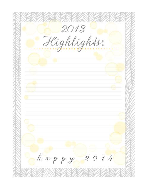 new year 11 FREE Organizational Printables 34