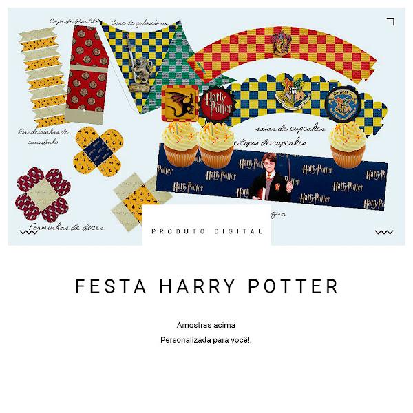 DIY Festa Harry Potter para sua festa de magia