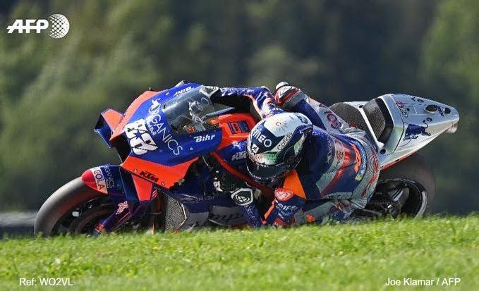 Miguel Oliveira Juara MotoGP Portugal, Mir Gagal Finis