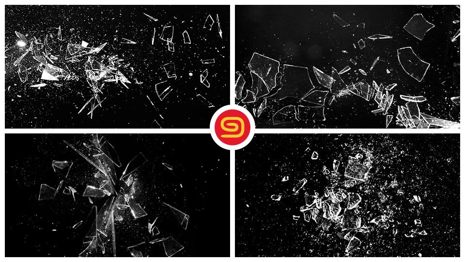 تحميل خامات الزجاج المحطم - Broken Glass Textures