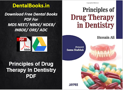 Principles of Drug Therapy In Dentistry PDF