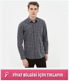 Kareli Erkek Gömlek