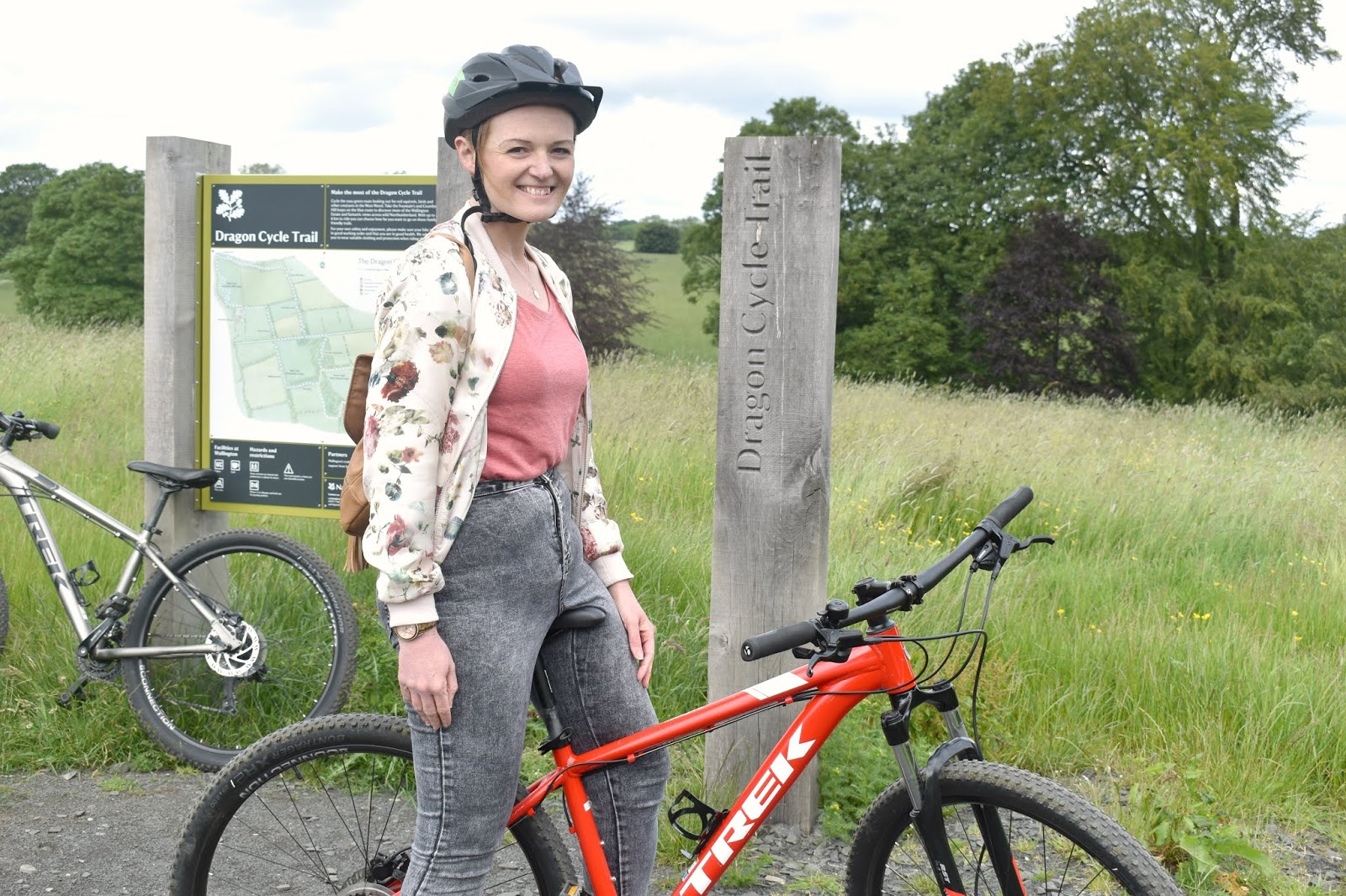 Cycle Hire at National Trust Wallington, Northumberland - Dragon Cycle Trail
