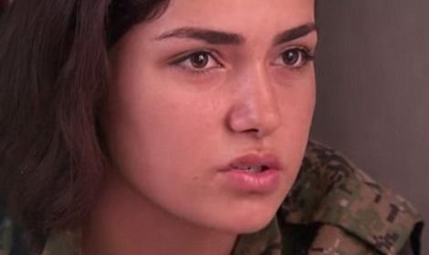 المقاتلين الأكراد يحررون النساء المستعبدين من داعش