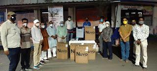 सेवा भारती शाजापुर को ऑक्सीजन कंसंट्रेटर प्राप्त
