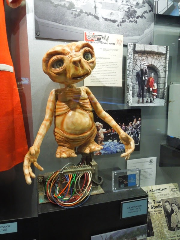 E.T. Adventures animatronic 1991 - 2003
