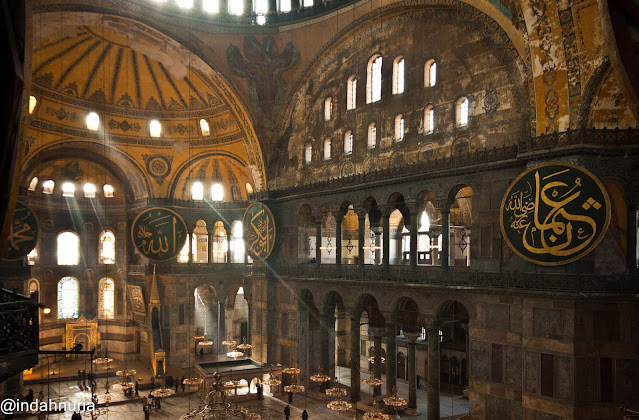 Morning light at Hagia Sophia, Istanbul, Turkey