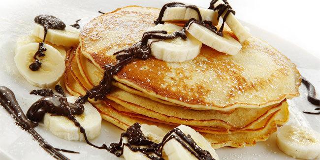 Hasil gambar untuk pancake pisang lezat