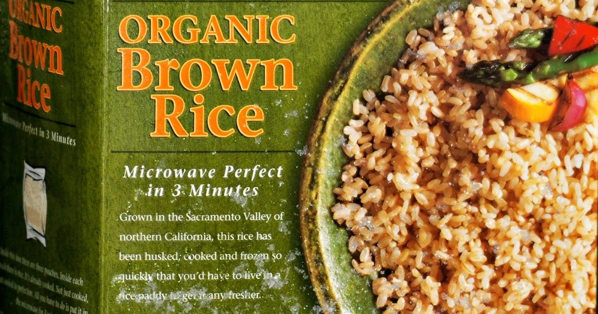 Trader Joes Frozen Organic Brown Rice