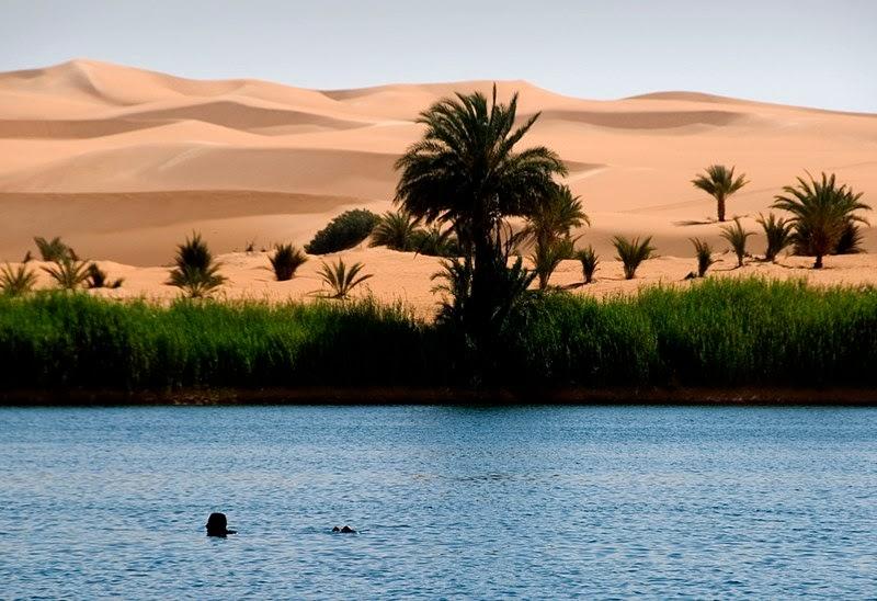 Ubari Lakes | The beautiful oasis in the Sahara desert