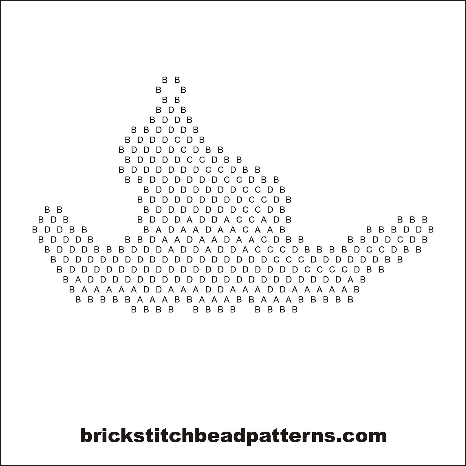 Brick Stitch Bead Patterns Journal: Crooked Witch Hat