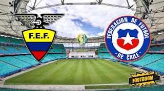 Эквадор – Чили смотреть онлайн бесплатно 22 июня 2019 прямая трансляция в 02:00 МСК.
