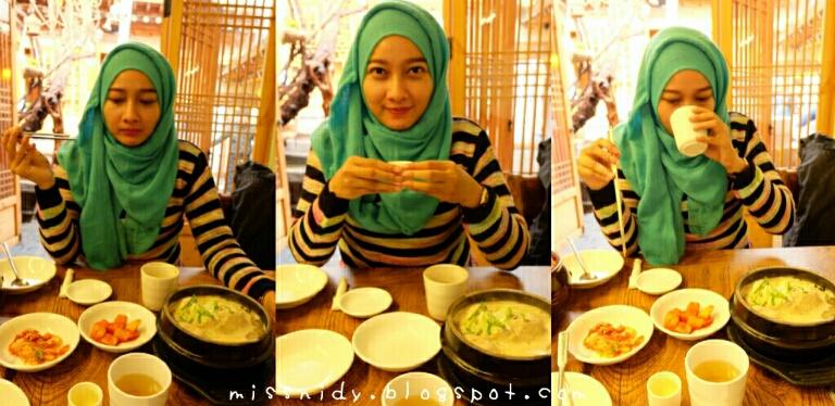 makanan halal itaewon