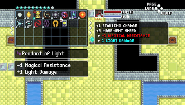 -1 Magical Resistance / +1 Light Damage
