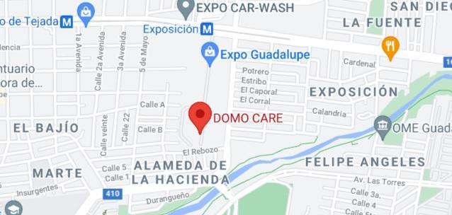 Expo Feria Guadalupe Mapa