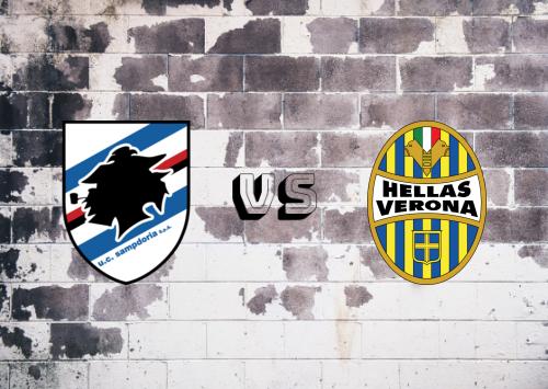 Sampdoria vs Hellas Verona  Resumen
