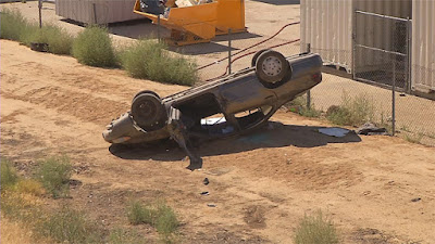 bakersfield rollover vehicle collision highway 58