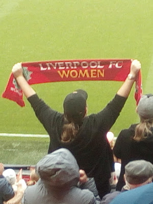 YNWA at Anfield - Liverpool Women