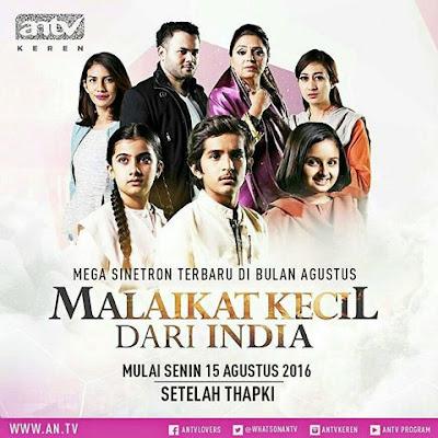 Biodata Lengkap Pemain Sinetron Malaikat Kecil dari India ANTV