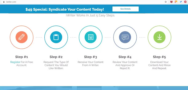 Submit your content on iwriter and get paid , copy-paste job