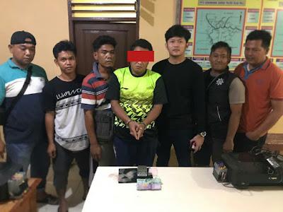 Operasi Antik, Unit Reskrim Polsek Bilah Hulu Tangkap Pria Pemilik Sabu-sabu